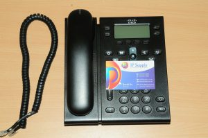 Cisco CP-6941-C-K9 Charcoal 4-Line Slimline Unified VoIP IP Phone 6MthWty TaxInv