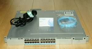 Cisco WS-C3850-24XUW-S 100M/1G/2.5G/5G/10G UPoE Ports 1100WAC 6MthWty TaxInv