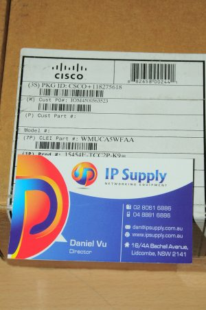 *Brand New* Cisco 15454-TCC2P-K9 Timing Communication Control Card 6MthWtyTaxInv