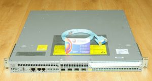 Cisco ASR1001 4-Port GigE Aggregation Services Router Dual DC 6MthWty TaxInv