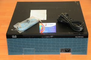 CISCO3945E/K9 Integrated Service Router w/ C3900-SPE250/K9 6MthWty TaxInv
