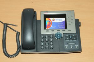 Cisco CP-7965G 7965 SCCP / SIP Unified VoIP IP Telephone Phone PoE 6MthWty TaxIn