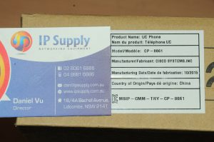 *Brand New* Cisco CP-8861-K9 VoIP IP Business Telephone Phone 6MthWty TaxInv