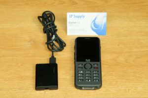 CISCO CP-8821-K9 Wireless Ip Phone Battery + Charger Bundle 1YrWty TaxInv