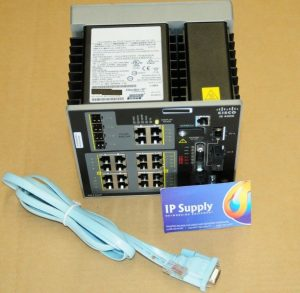 Cisco IE-4000-8GT8GP4G-E IE 4000 Series Industrial Ethernet Switch 6MthWty TaxIn