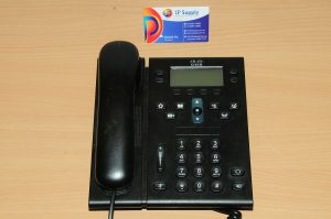 Cisco CP-6961-C-K9 Unified IP Phone 6961 Charcoal Slimline Handset 6MthWtyTaxInv