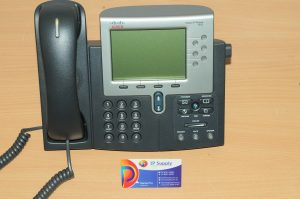 Cisco CP-7962G 6-Line Unified VoIP IP Business Telephone 6MthWty TaxInv