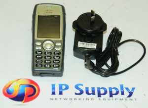 CISCO CP-7925G-W-K9 IP Phone w/ CP-BATT-7925G-STD Battery And Charger 6MthWty