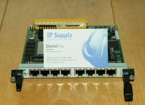 Cisco SPA-8XCHT1/E1 8 Port Channelized T1/E1 Shard Port Adapter 6MthWty TaxInv