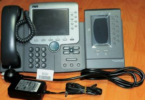 Cisco7970G w/ CP-SINGLFOOTSTAND, CP-7916, CP-PWR-CUBE-3 6 month Warr Tax Invoice