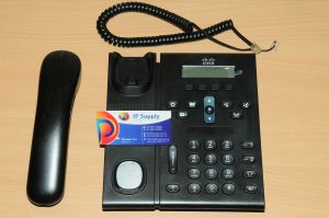 Cisco CP-6961-CL-K9 Unified IP Phone 6961 Charcoal Slimline Handset 6MthWtyTaxIn
